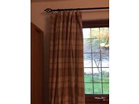 Lovely John Lewis checked curtains