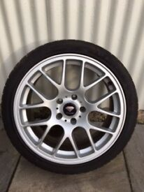"""18"""" Alloys with winter tyres"""