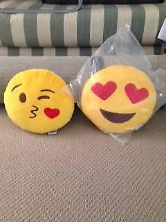 Emoji Pillows x 2