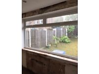 large upvc window suitable for garage or large shed