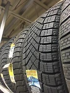 215/60r16 Pirelli Winter Ice 0FR $120/tire