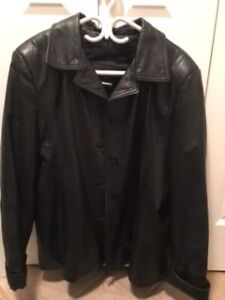 Women's 2XL Leather Coat