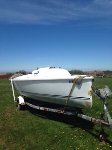 2005 Hunter 216 22.6 Sailboat with Motor and Trailer