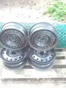 15' four bolt pattern ford rims