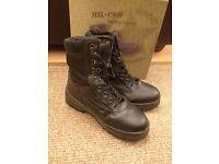 Black Mil-Com Patrol Boots