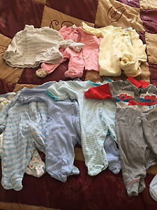 clothes for boy and girl for 3-12 months.