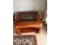 Solid wood side/sofa coffee tables