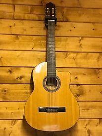 Electro-acoustic Spanish guitar