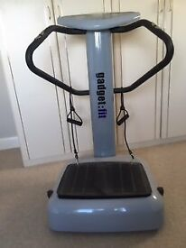 Gadget Fit Vibration Plate - complete body workout from head to toe.
