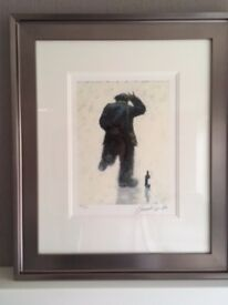 2 Alexander Millar Limited Edition Giclee Prints. Mounted and framed.