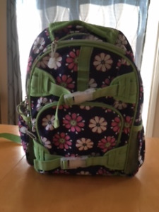 Pottery Barn backpack and lunch bag