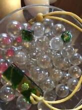Italian handmade Venetian Murano Glass Pendant & Earrings Hillcrest Port Adelaide Area Preview