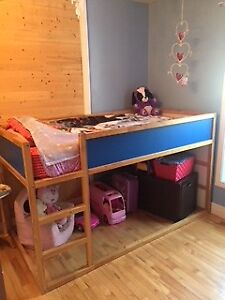 lit simple ikea / mezzanine enfant