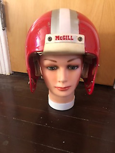 (Mcgill) Football helmet   $40