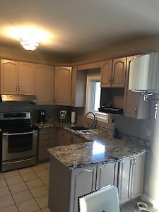 OAK CABINETS AND GRANITE COUNTERTOP AVAILABLE