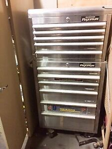 "Mastercraft ""Maximum"" Stainless Steel Tool Chest"
