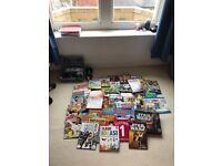 Selection of over 40 boys hardback books - great condition - some unused!