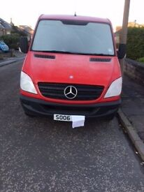 mercedes sprinter new shape 2006 mwb 1 owner low mileage red only 4250