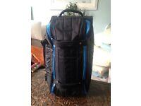 Calvin Klein blue canvas bag