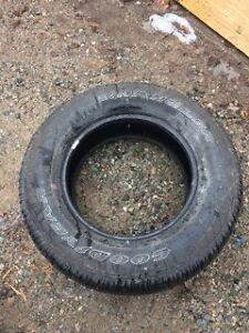 4 Summer truck tires goodyear wrangler