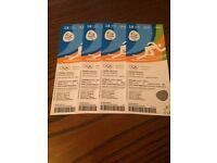 Olympic Tickets * 4