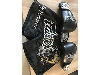 Fairtex Muay Thai Shorts + Gloves