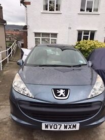 2007 Peugeot 207S, 5 door , low mileage, service history