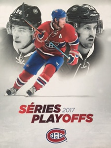 CANADIENS PLAYOFFS 20 AVRIL-  SECTION 329 BB 3-4.