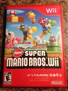 Wii Super Mario Bros.wii  Game West Island Greater Montréal image 1