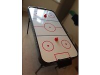 Air hockey table - great entertainment for the whole family
