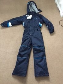 Kids trespass snow suit - brand new with labels still on