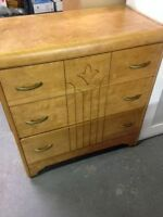 3-Drawer All Wood Construction Tall Boy Dresser for sale
