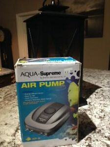 BRAND NEW AQUA-SUPREME SIZE AP-8 AIR PUMP WITH 4 OUTLETS