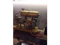 compressor and air bursh set