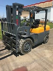 NEW 10000 lb ATF / Vimar Solid-Pneumatic FORKLIFT!