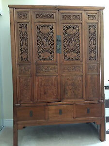 Beautiful antique Chinese Armoire