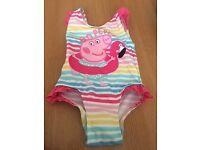 Peppa Pig Girls Swimming Costume