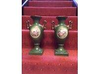 Two lovely period style vases