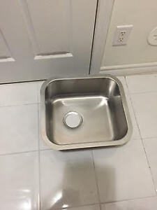 Single stainless steel brand new sink