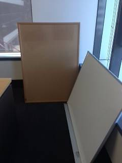 1200 x 900mm whiteboard AND 1220 x 870mm Pinboard Crows Nest North Sydney Area Preview