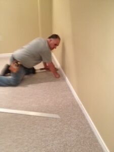 Carpet installation service