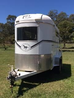 PBL 2005 - 600 extend straight load double Horse Float Caboolture Caboolture Area Preview