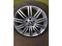 BMW 19 inch spider/spyder Alloy wheel set of 2
