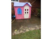Little tikes cottage playhouse in excellent condition.