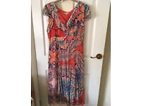 LADIES PER UNA FLOATY SUMMER DRESS - SIZE 14 - IDEAL FOR SPECIAL OCCASION