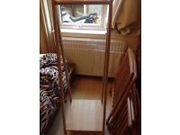 Wood Clothes Rail 44x1.50