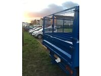 citreon relay caged tipper double cab ( no vat )