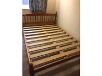 Pine double bed frames