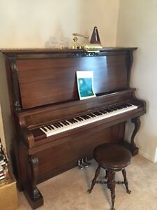 1877 Upright Grand Willis Piano