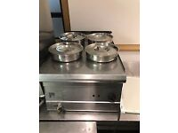 CATERING EQUIPMENT 4 POT PARRY BAN MARIE
